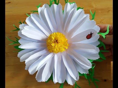 Открытка в форме цветка своими руками