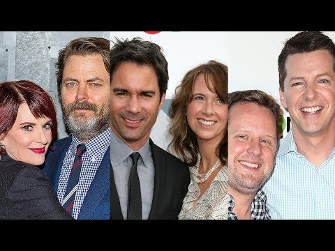 Will & Grace ... And Their Real Life Partners