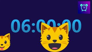 6 hour TIMER (countdown) ⏱⏱  LOUD ALARM