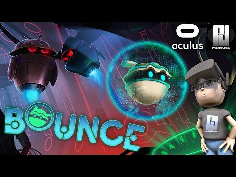 BOUNCE VR - PLAYING WITH BALLS! (+ Commentary!) | Oculus | GTX 1060