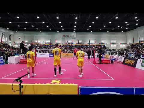Sepak Takraw | 32nd King's Cup 2017 | Men's Team Regu Event - Final | Thailand VS Korea - First Regu