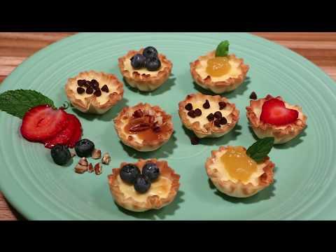Athens Petite Cheesecake Phyllo Cups Recipe
