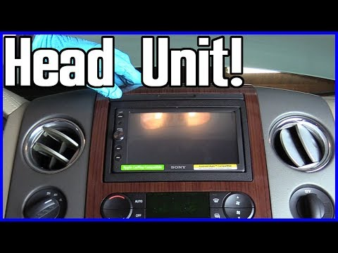 How to Install a Radio Head Unit Ford F-150 2004-2008