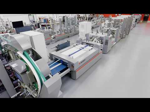 BOBST MASTERFOLD 75/110 Folder-gluer With EASYFEEDER/BATCH INVERTER 4 And CARTONPACK 4