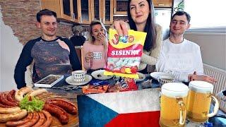 Пробуем Чешскую Еду! Сисинки, Бруник и Минонка