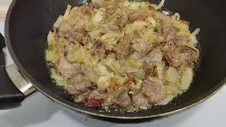 Лучший ужин который понравится семье или гостям рецепт тушеная картошка с капустой и сырным соусом