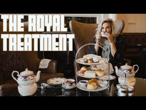 THE ROYAL TREATMENT | AMERICANS TRY AFTERNOON TEA FOR THE FIRST TIME | WHALE WATCH IN VICTORIA BC