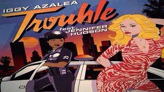 Iggy Azalea graba video de su nuevo single Trouble ft. Jennifer Hudson