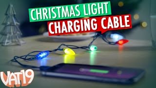 Christmas Lights iPhone Cable