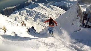 When Locals Show You Where to Freeride Ski, They Don
