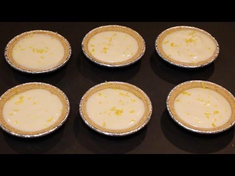 Easy No Bake Mini Lemon Pie Recipe   No Bake Lemon Tart   Soul Food Cooking