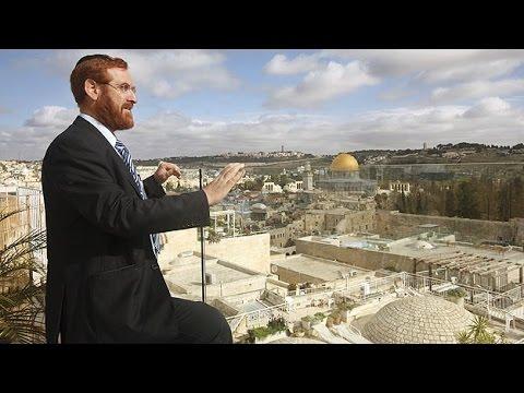 El tetra eclipse y el Rabino Yehuda Glick, director del Instituto del Templo