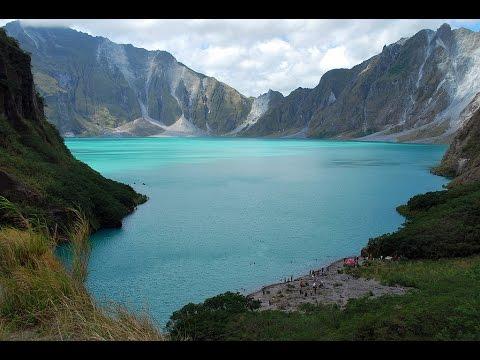 Volcano Pinatubo Philippines 2012