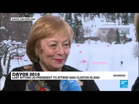 Davos 2018: Trump's speech marks grand finale