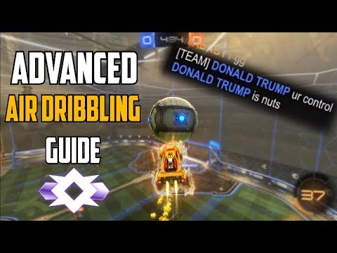 Advanced Air Dribbling Guide from a Champ 2 Player | Rocket League