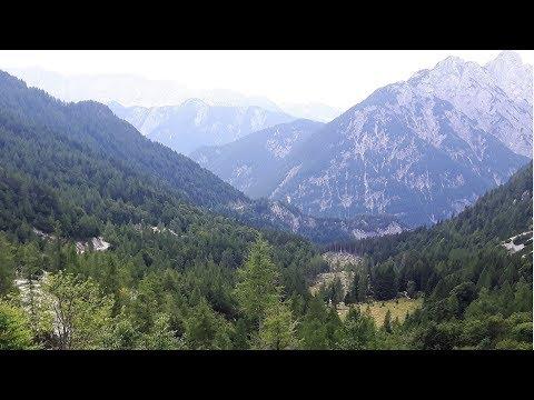 Kawasaki Versys 1000 Vršič Pass Triglav National Park Slovenia