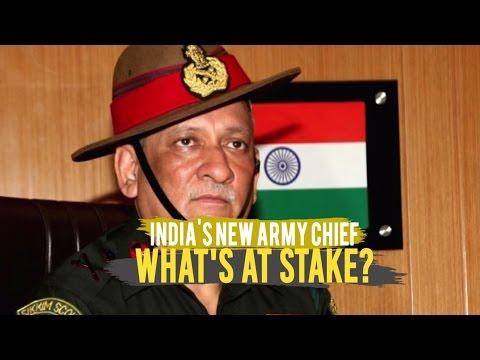 India's million man army has a new chief - Lt. Gen Bipin Rawat