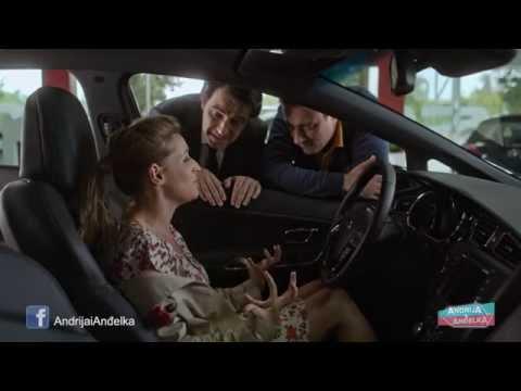 Andrija i Andjelka - Andjelka kupuje auto
