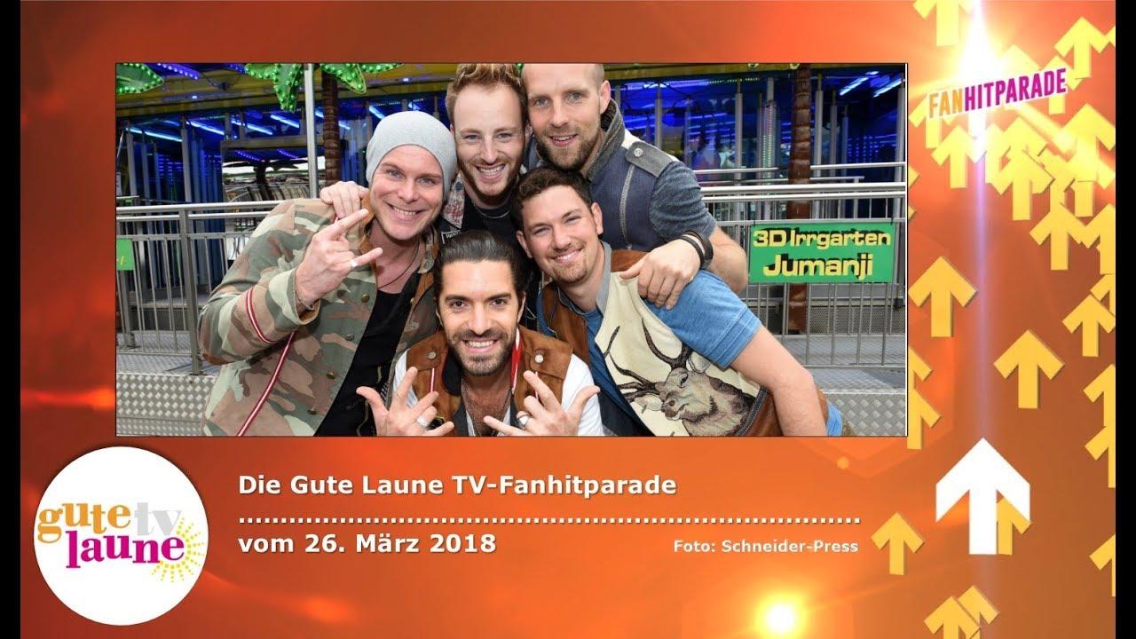 Die Gute Laune TV-Fanhitparade vom 26. März