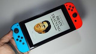 Dr Kawashima's Brain Training For Nintendo Switch   Handheld Gameplay