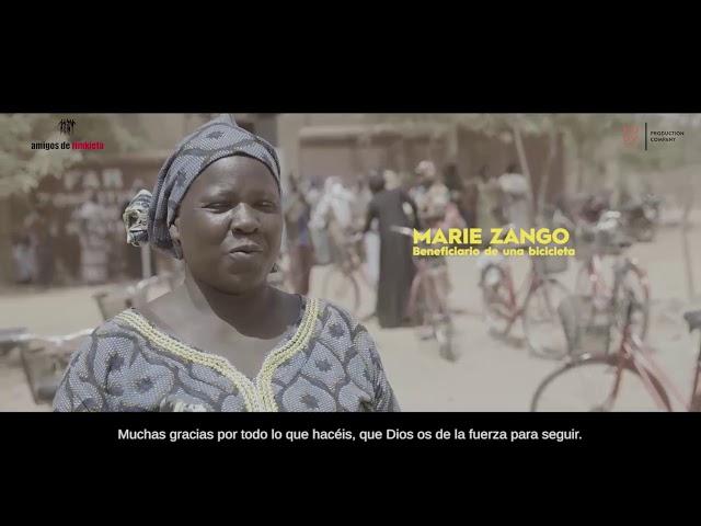 1  MARIE ZANGO, beneficiario de una bicicleta