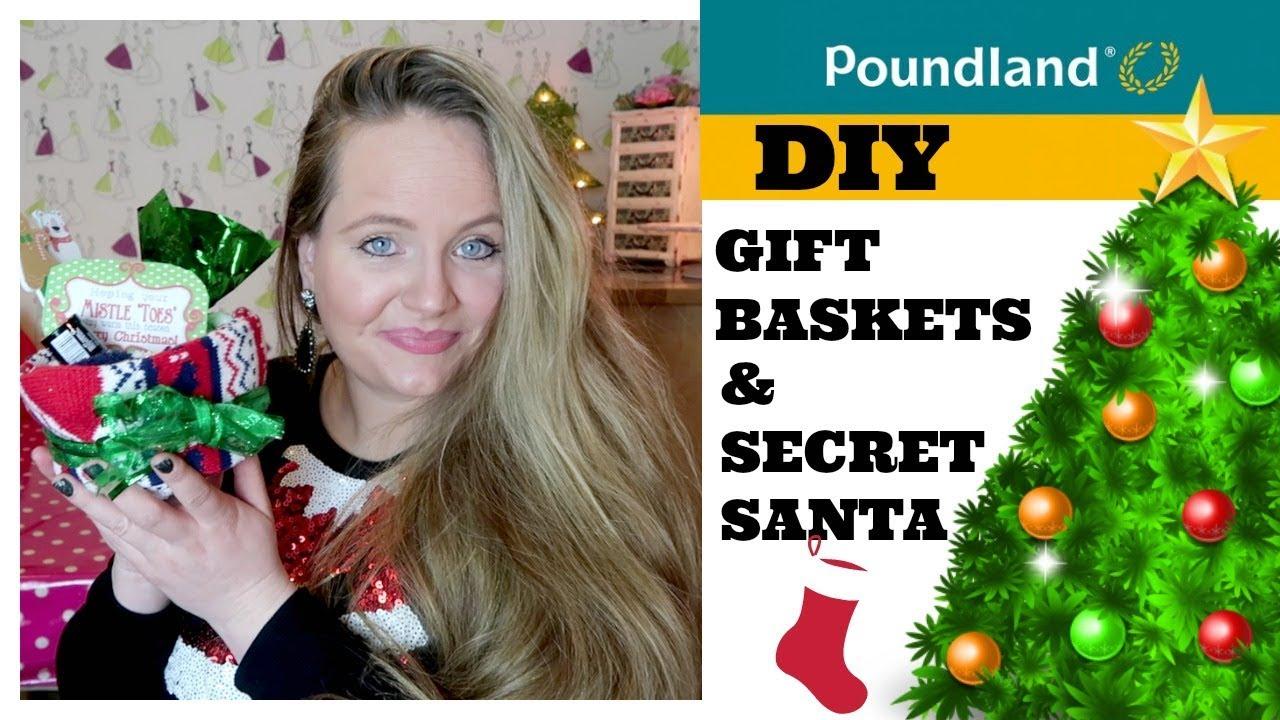 CHRISTMAS DIY POUNDLAND / DIY GIFT BASKET IDEAS / STOCKING FILLERS / SECRET  SANTA