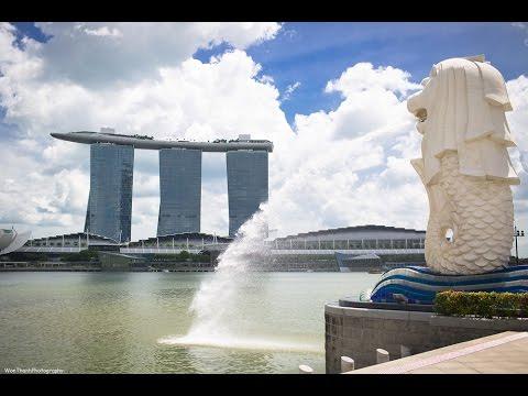 Singapore Marina Bay Sands Hotel, Pool, Shoppes & Gardens
