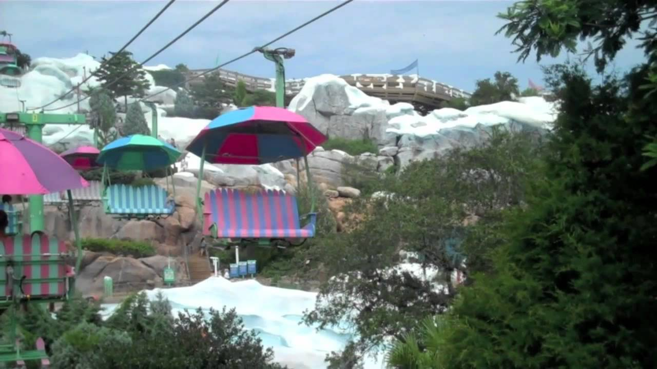 Disney Water Park Blizzard Beach Video Tour Youtube