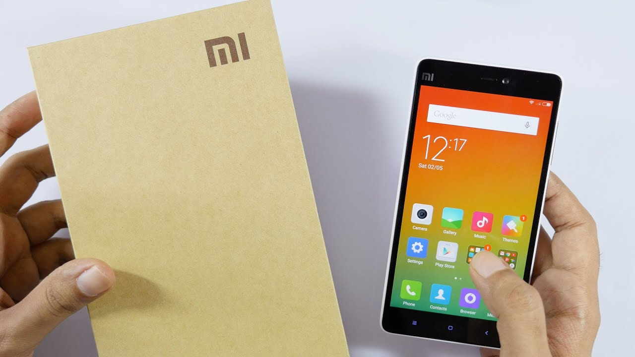 Xiaomi Mi4i Unboxing Amp Hands On Overview Youtube