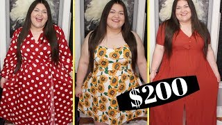 SHEIN Plus Size Unboxing Try On Haul