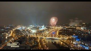 Праздничный салют 2016 Москва