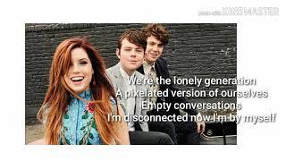 Echosmith - Lonely Generation (Lyric Video)