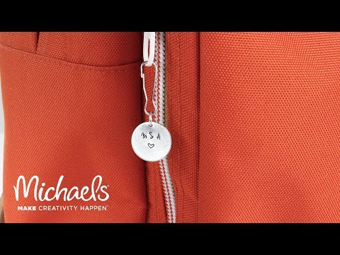 Metal Stamped Zipper Pull   Michaels