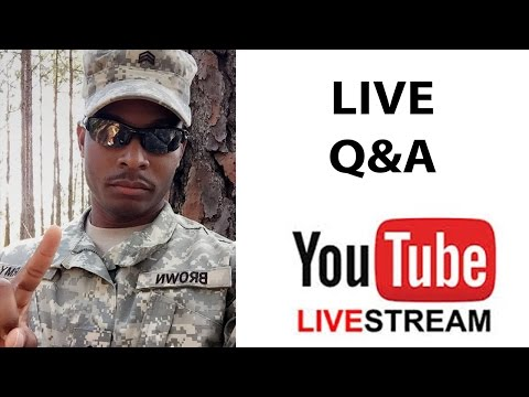 Live Q&A Military | Army Questions Live Stream