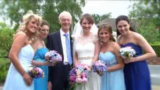 Repeat youtube video Megan & Ed wedding video highlights | Sandhole Oak Barn