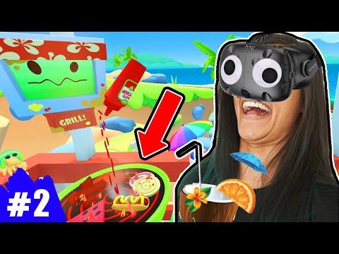 SAMMIES GRILL | Vacation Simulator VR - Episode 2