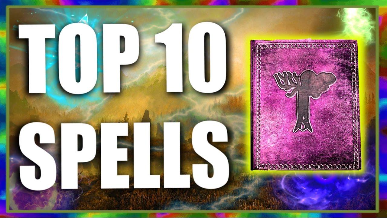 Top 10 Fun Spells in Skyrim Special Edition