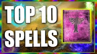 Top 10 Fun Spells in Skyrim Special Edition
