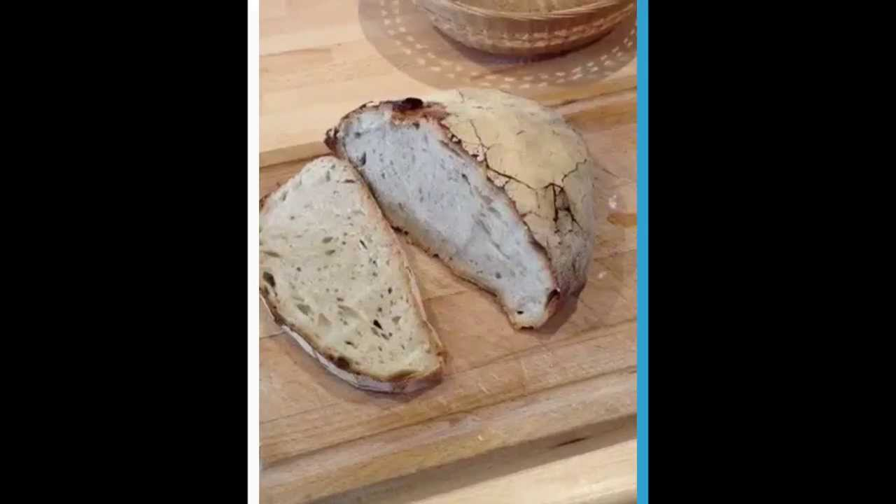 20 22 recette pain levain 100 naturel sans levure recette facile et rapide youtube - Recette pain sans levure ...