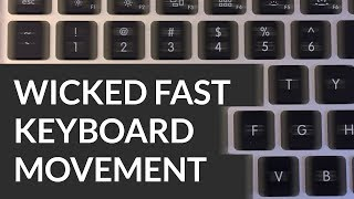 Mac Tutorial: Wicked Fast Keyboard Cursor Movement