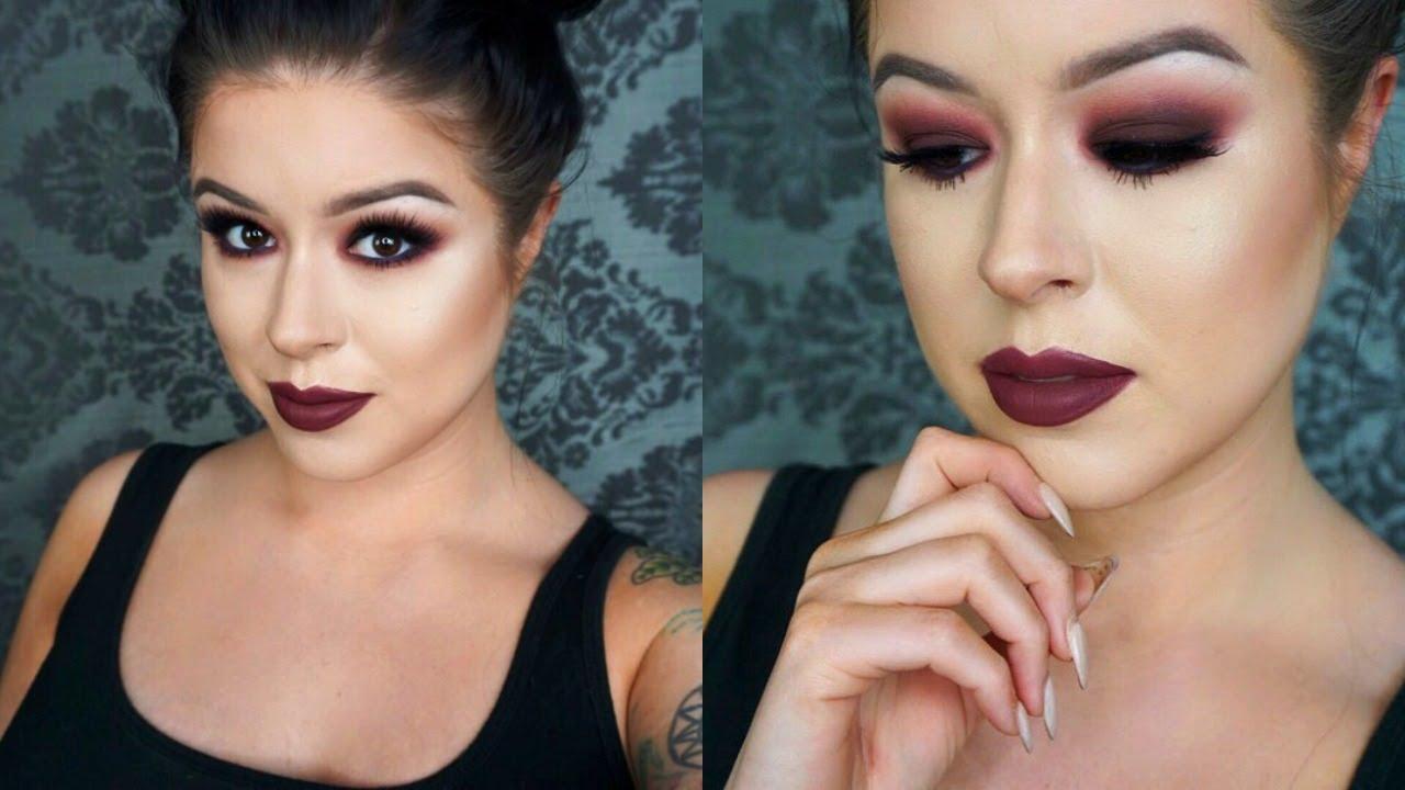 Makeup Geek Bitten Smokey Eye Makeup Tutorial - YouTube