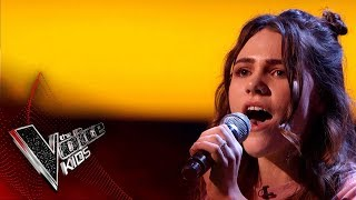 Zoe Performs '1234': Blinds 2 | The Voice Kids UK 2018