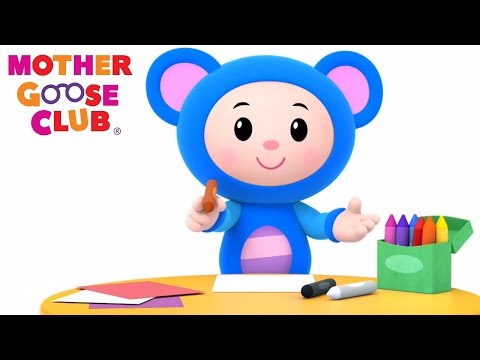 Animal Sound Songs| Learn Colors Nursery Rhymes from Mother Goose Club! Kids Play Video | Children