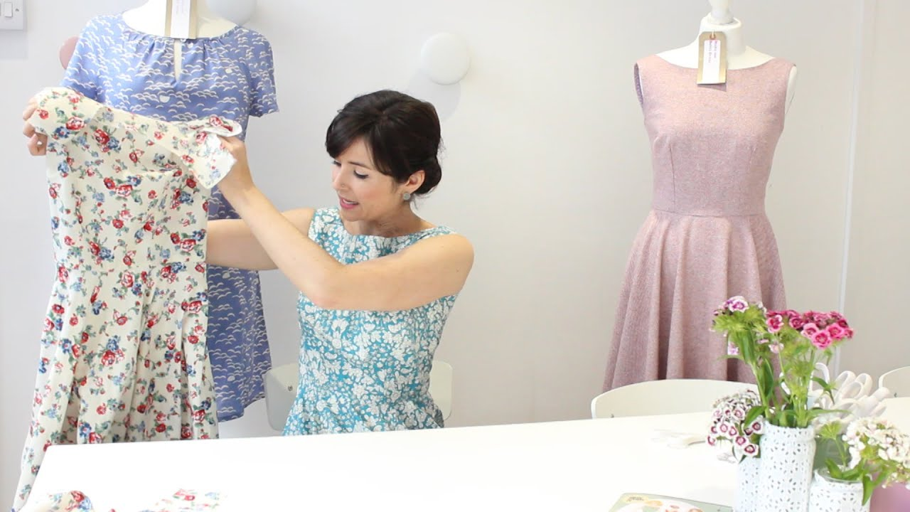 How To Sew An All In One Armhole And Neckline Facing Youtube