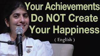 الإنجازات لا تخلق السعادة: BK شيفانى في كانبيرا (باللغة الإنجليزية)