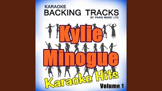 Confide In Me (Originally Performed By Kylie Minogue) (Full Vocal Version)