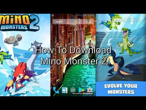 HOW TO DOWNLOAD MINO MONSTER 2 APK (HINDI COMMENTARY)