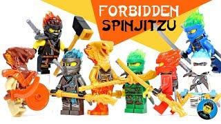 Ninjago Forbidden Spinjitzu Season 11 w/ Pyro Vipers Unofficial LEGO Minifigures Set 1