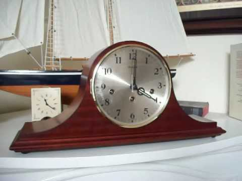 German Dunhaven Westminster Chime Mantel Clock