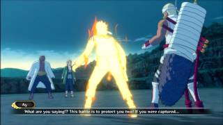 Naruto Shippuden Ultimate Ninja Storm 3 Killer Bee & Naruto VS Raikage Boss Battle